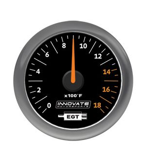 Innovate Motorsports MTX-A: Exhaust Gas Temperature (EGT) Gauge
