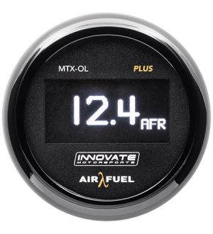 Innovate Motorsports MTX-OL PLUS: Wideband Air/Fuel OLED Gauge Kit (3 ft.)