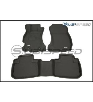 3D Maxpider Heavy Duty All Weather Floor Mats - 2014 - 2018 Forester