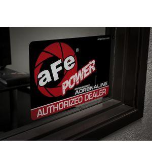 aFe Power Marketing Promotional PRM Cling Window: aFe Power Dealer (Medium)