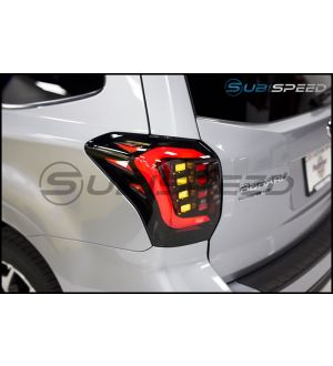 OLM USDM CS Style LED Tail Lights - 2014+ Forester