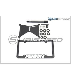 Perrin Front License Plate Relocation Kit - 2014+ Forester