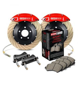 StopTech Big Brake Kit 2 Piece Rotor, Front 2 Box 2014-2019 Ford - 83.343.4300.74