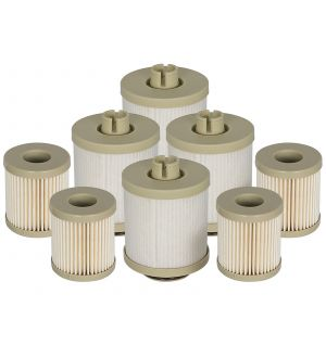 aFe Pro GUARD D2 Fuel Filter 03-07 Ford Diesel Trucks V8 6.0L (td) (4 Pack)