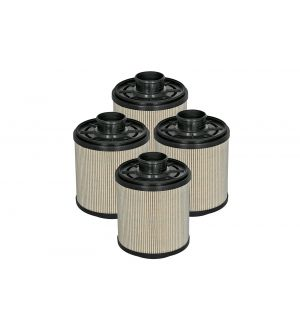 aFe Pro GUARD D2 Fuel Filter 11-17 Ford Diesel Trucks V8 6.7L (td) (4 Pack)-1