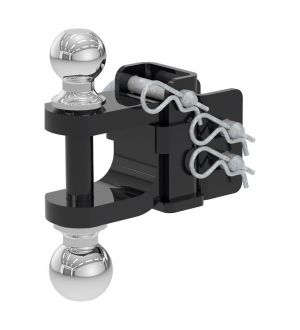 Curt Replacement Adjustable Multipurpose Ball Mount Head for 45049