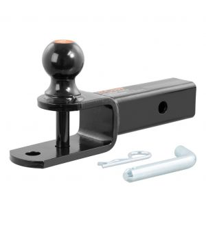 Curt 3-in-1 ATV Ball Mount w/2in Shank & 2in Trailer Ball