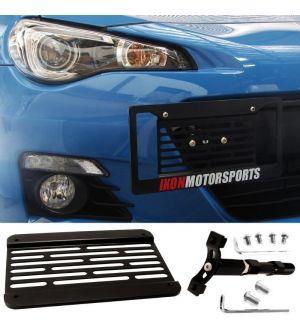 Ikon Motorsport Scion FRS Subaru BRZ WRX STI Impreza Towhook License Plate Relocation Kit