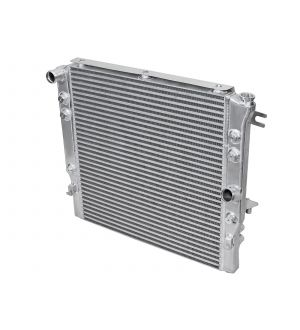 aFe BladeRunner GT Series Bar and Plate Radiator w/ Black Hoses 12-18 Jeep Wrangler (JK) V6 3.6L