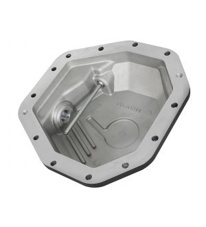 aFe Power Pro Series Rear Differential Cover Black w/Machined Fins 17-19 Ford Diesel Trucks V8-6.7L