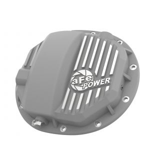 aFe Street Series Rear Differential Cover Raw 14-19 Chevrolet Silverado V8 4.3L / 5.3L / 6.2L