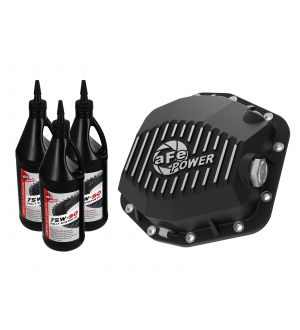 aFe Power Cover Diff Rear Machined w/ Gear Oil 2019 Ford Ranger (Dana M220)