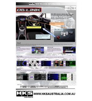 HKS OB-Link - 2013+ BRZ