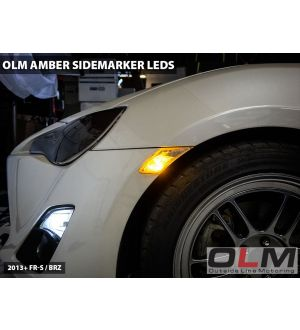 OLM White LED Side Marker Light Bulbs - 2013+ BRZ