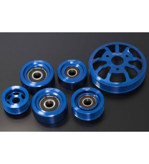 Greddy 7 Piece Aluminum Engine Pulley Kit - 2013+ BRZ