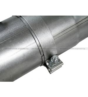 aFe Atlas 5in Turbo-Back Alum Steel Exhaust w/o Muffler 94-02 Dodge Diesel Trucks L6-5.9L (td)