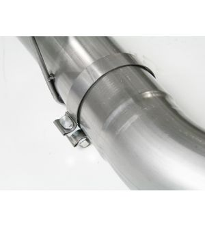 aFe MACHForce XP Exhaust Cat-Back SS-409 04-06 Jeep Wrangler TJ Unl L6 4.0L 2.5in Off-Road No Tip