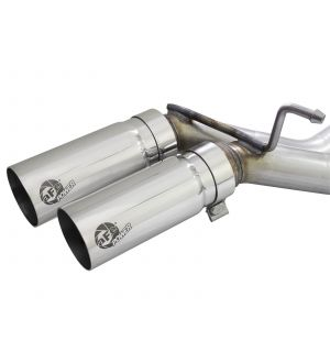 aFe Rebel Exhausts 3in SS Cat-Back 15-16 Ford F-150 EcoBoost V6 2.7/3.5L V8 5.0L w/ Polished Tips
