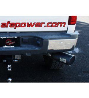 aFe MACHForce XP Exhausts Cat-Back SS-409 EXH CB GM Diesel Trucks 11-12 V8-6.6L (td) 5 (blk tip)