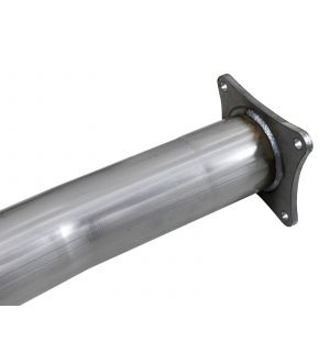 aFe Atlas 4in Aluminized Steel Race Pipe 13-18 Dodge Ram 3500 Diesel 6.7L (143.5in WB)