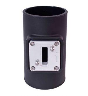 AIRAID Universal Tube w/Maf Plate TUBE; MAF 3.5
