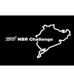 Subaru STI Nürburgring Challenge Stickers - 2015+ WRX / 2015+ STI