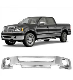 Ikon Motorsports Fits 06-08 Ford F-150 Front Step Bumper Face Bar Grille Upper SS