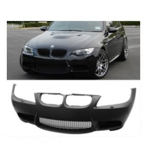 Ikon Motorsports 2009-2011 BMW E90 E91 3-Series M3 Style Front Bumper Fog Lights Cover Air Duct