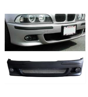 Ikon Motorsports 1996-2002 BMW E39 5 Series M5 Front Bumper No PDC W/O Fog Light Polypropylene