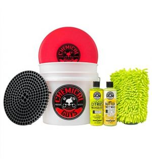 Chemical Guys Wash and Wax Detailing Bucket Kit