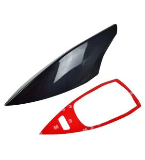 Ikon Motorsports Fits 12-16 BRZ FRS GT-86 Antenna Shark Fin Cover Painted # 61K ABS
