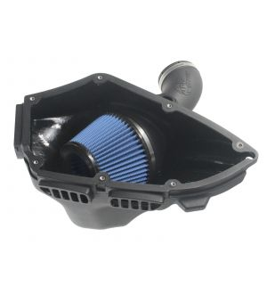 aFe MagnumForce Stage 2 Si Intake System Pro 5 R Black 06-12 BMW 3 Series E9x L6 3.0L Non-Turbo