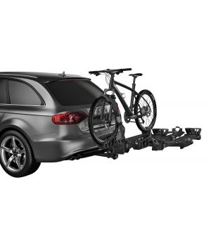 Thule T2 Pro XT 2 Bike Rack Add-On (Allows 4 Bike Capacity/2in. Receivers Only) - Black
