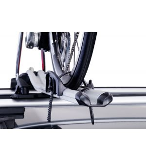 Thule OutRide - Fork-Mount Bike Rack (Fits Up to 3in. Wide Tires) - Silver
