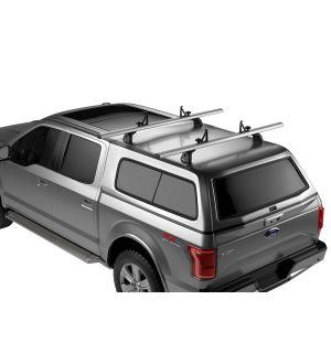 Thule TracRac CapRac Truck Bed Cap Roof Rack - Silver/Black