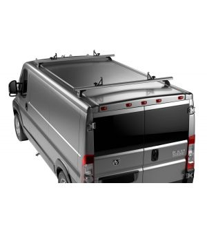 Thule TracRac Van Rack ES (Euro-Style) for 2014+ Dodge Ram ProMaster - Silver