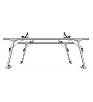 Thule TracRac SR Sliding Overhead Truck Rack - Full Size (RACK ONLY/Req. SR Base Rails) - Silver