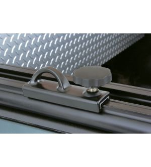 Thule TracRac Base Rail Tiedowns (TracRac SR & Utility Rack Only) 2 Pack - Black