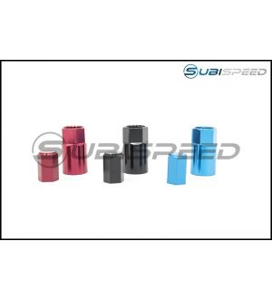 Wheel Mate TPMS Color Valve Step Sleeve and Cap Kit - Universal