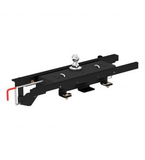 Curt 09-10 Ram 1500 Double Lock Gooseneck Hitch Kit w/Installation Brackets