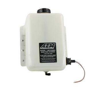 AEM Water/Methanol Injection Tank V2 with Conductive Fluid Level Sensor 1 Gallon