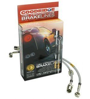 GoodRidge G-Stop Stainless Steel Brake Lines Front/Rear