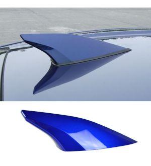 Ikon Motorsports Fits 12-16 Subaru BRZ Antenna Cover Painted World Rally Blue Pearl # K7X