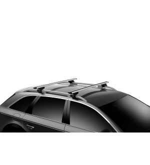 Thule WingBar Evo 150 Load Bars for Evo Roof Rack System (2 Pack / 60in.) - Black
