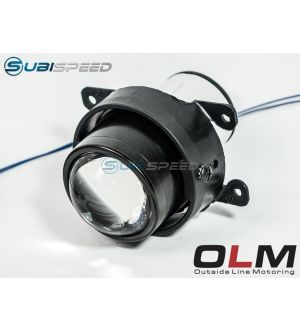 OLM Bixenon Low / High Beam Projector Fog Lights - 2015+ WRX / 2015+ STI / 2013+ BRZ / 2014+ Forester / 2013+ Crosstrek