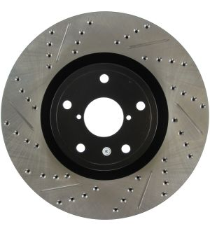 Stoptech Drilled and Slotted Rotor Single Front Right