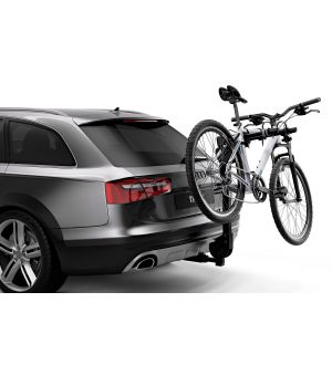 Thule Camber 2 - Hanging Hitch Bike Rack w/HitchSwitch Tilt-Down (Up to 2 Bikes) - Black