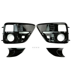 STI JDM LED Fog Light Bezel Accessory Liner Kit