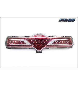 GCS Red 4th F1 Style Brake Light V2 / Reverse Light - 2013+ BRZ