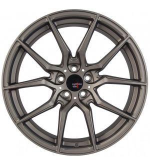Option Lab R716 18x9.5 +35 5x114.3 Noble Grey Wheel